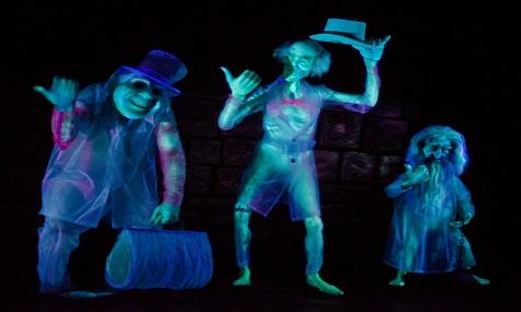 Die berühmten Hitchhiking Ghosts namens Phineas, Ezra und Gus...
