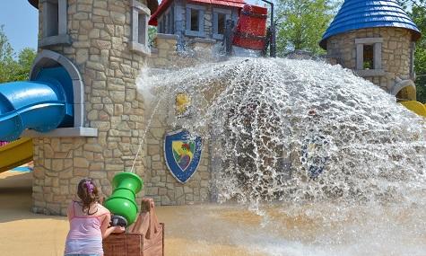 Wasser, Italien und Kinder  - eine Kombination die immer funktioniert