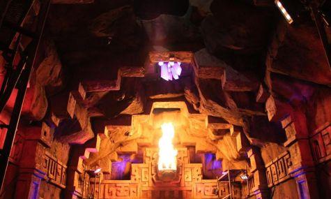 Ein erstes Bild aus dem Inneren des Lost Temple - Anklicken zum Vergrößern!