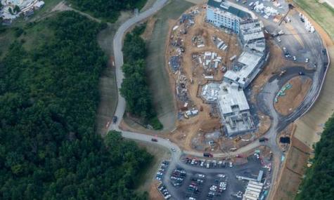 Ein Luftbild zum aktuellen Baustand - Anklicken zum Vergrößern!