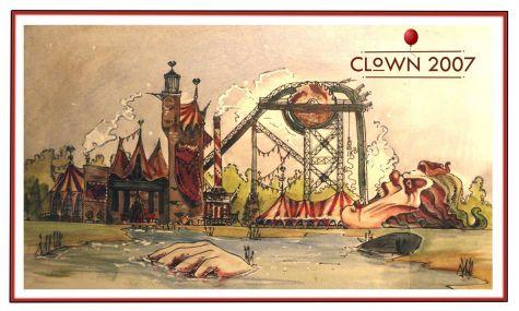 Clown 2007 - Creativ ist Eddie ja
