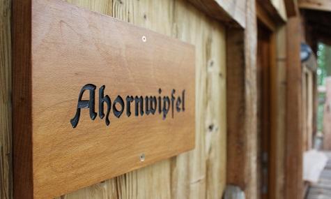 Jedes Baumhaus hat seinen eigenen Namen