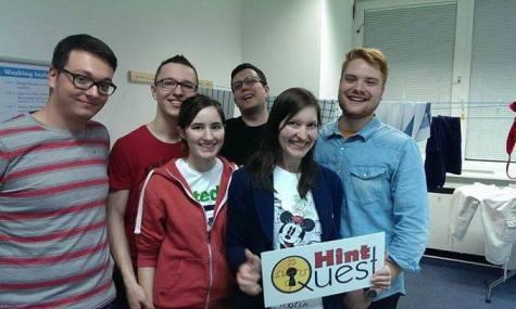 Das Airtimers-Team ist begeistert von HintQuest!
