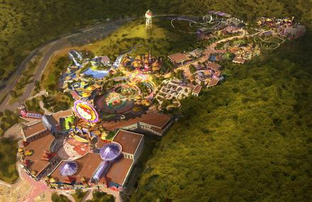 Ein Überblick auf den Hello Kitty Park in China