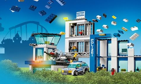 Die LEGO City Polizeistation ist die Neuheit für die Saison 2015