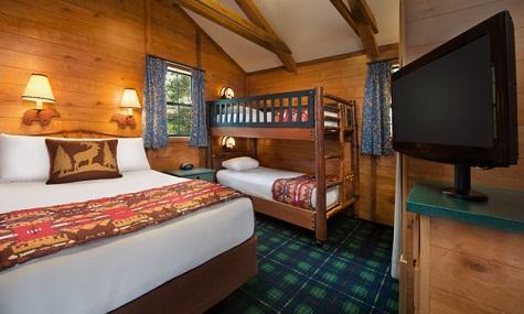 Die Schlafzimmer der Cabins laden zum Träumen ein.