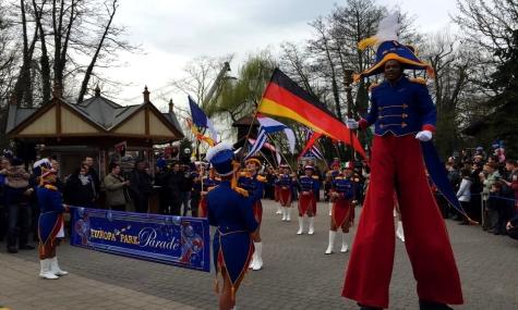 Die Saison ist eröffnet! Auch wieder dabei: Die Europa-Park Parade