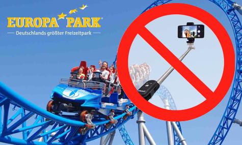 Erst Disney, jetzt der Europa-Park - Selfie-Stick-Verbot auf den Attraktionen