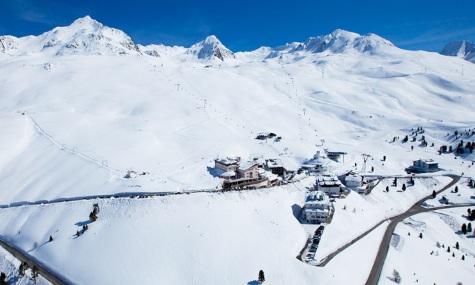 Das Skigebiet aus der Vogelperspektive