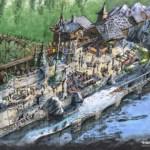 Plopsaland de Panne stellt neue Holzachterbahn vor