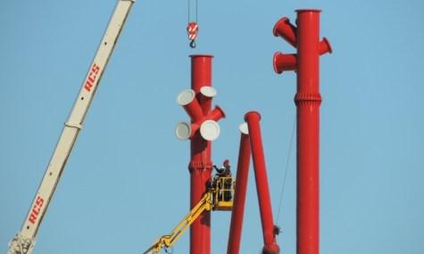 Bald wird dieser Kran nicht mehr rechen: Erstmals erwarten uns über 100 Meter in Europa