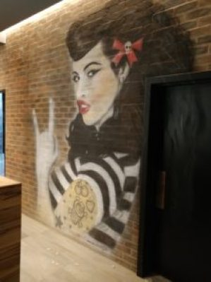 Rocomamas Pin Up Mural