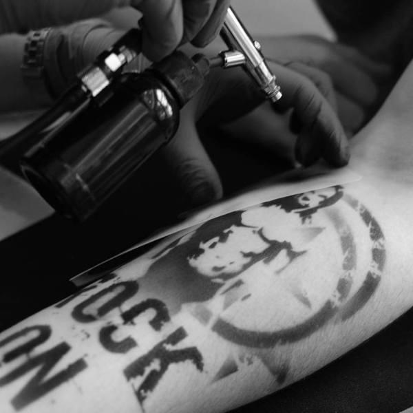 Airbrush Tattoo Ink