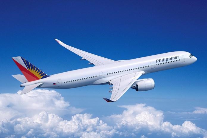 Philippine Airlines Airbus A350 artwork. (Credits: Airbus)