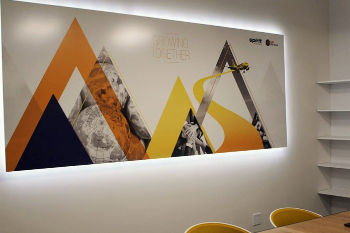 Spirit's LSG SkyChefs-sponsored Conference Room. (Credits: Spirit Airlines)