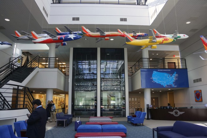 Southwest Airlines Corporate Headquarters – Dallas Love Field, TX. (Credits: Author)