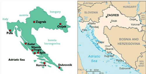 CROATIAN EMBASSIES AND CONSULATES