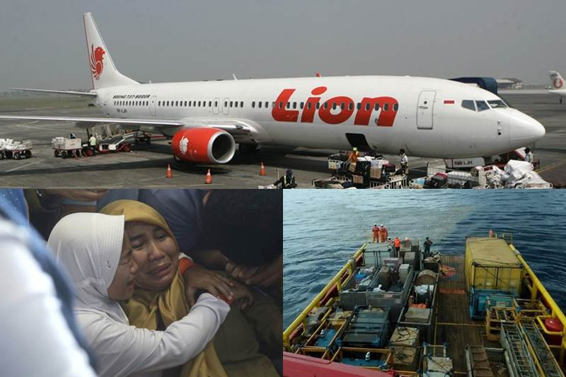 Lion Air Flight crashes