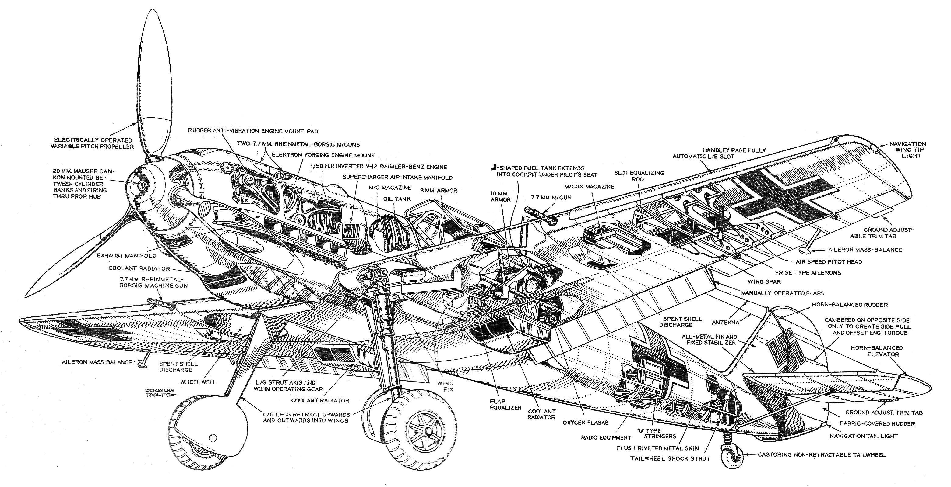 Messerschmitt Me 109 Bf 109 Special Edition Cd