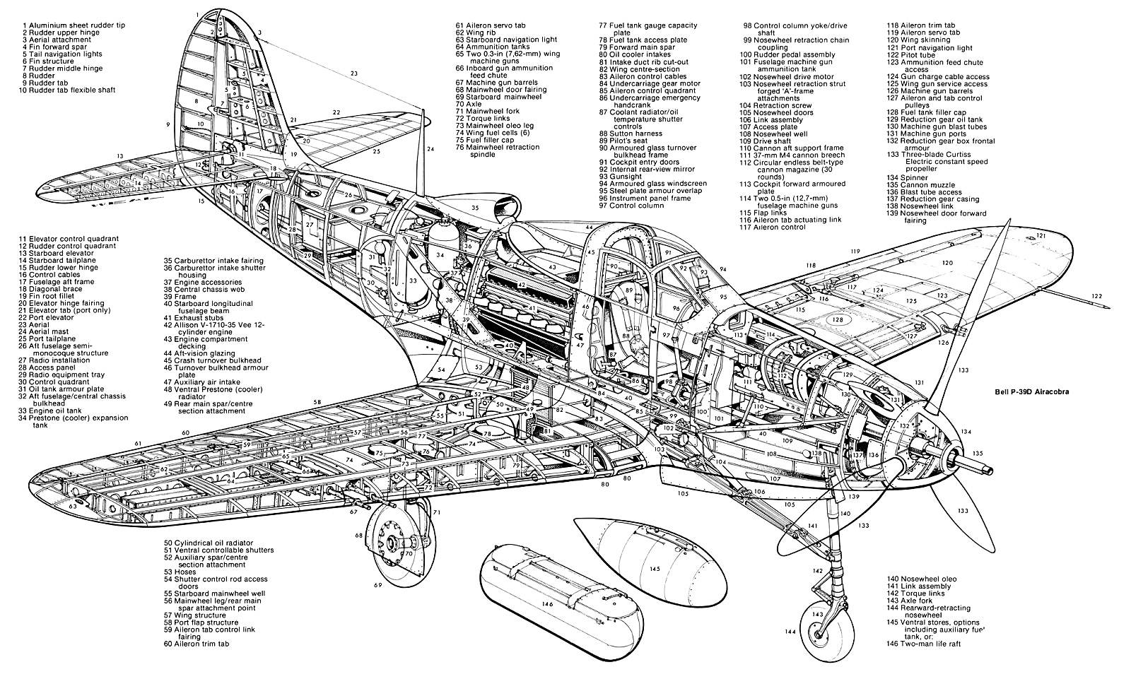 Bell P 39 Airacobra P 63 Kingcobra Ebook Amp Aircraft