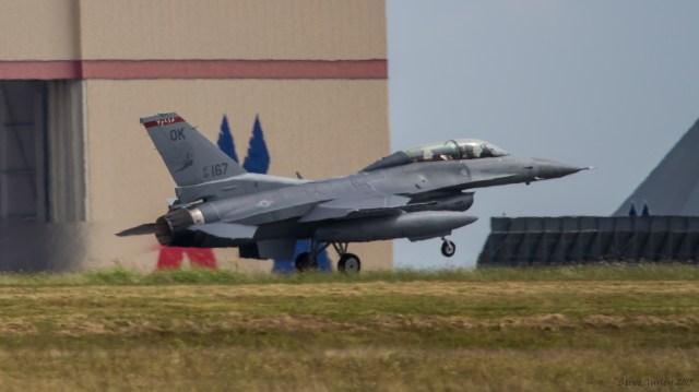 Tulsa ANG F16 167