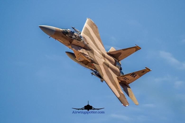 65th Aggressor Squadron doing Flex take off Runway 03L
