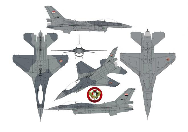 iraq f16 camo