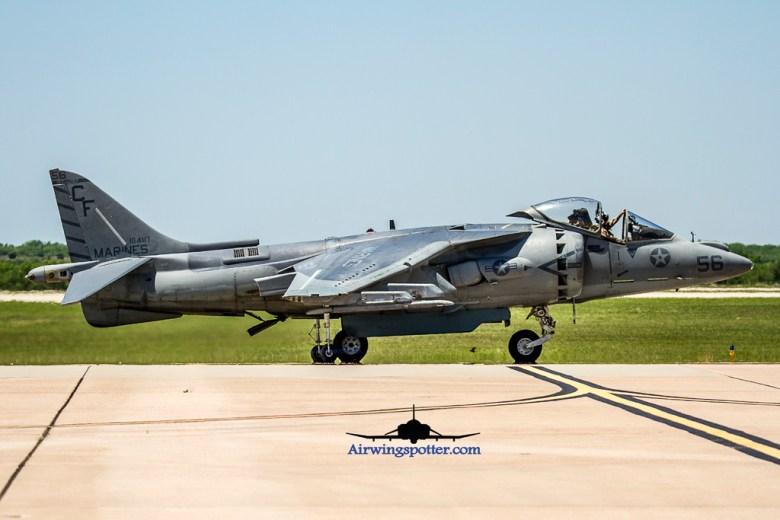 Photo USMC Harrier Demo