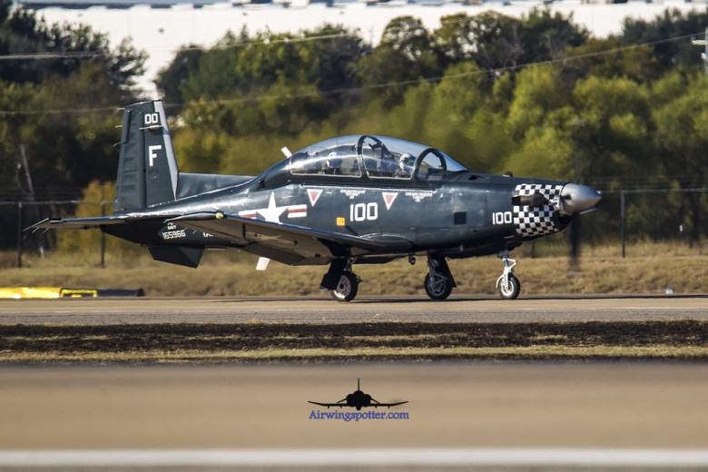 T-6II Navy Centaniel Markings