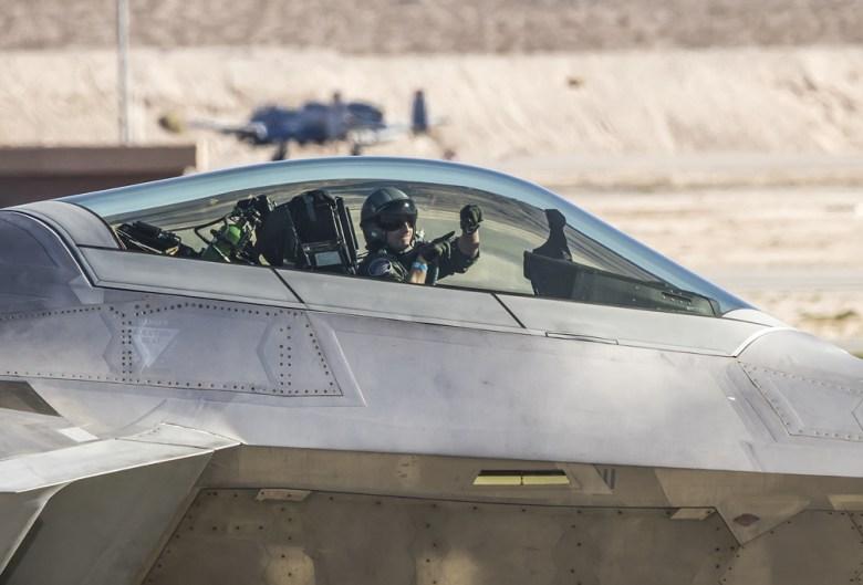 F22 raptor demo pilot
