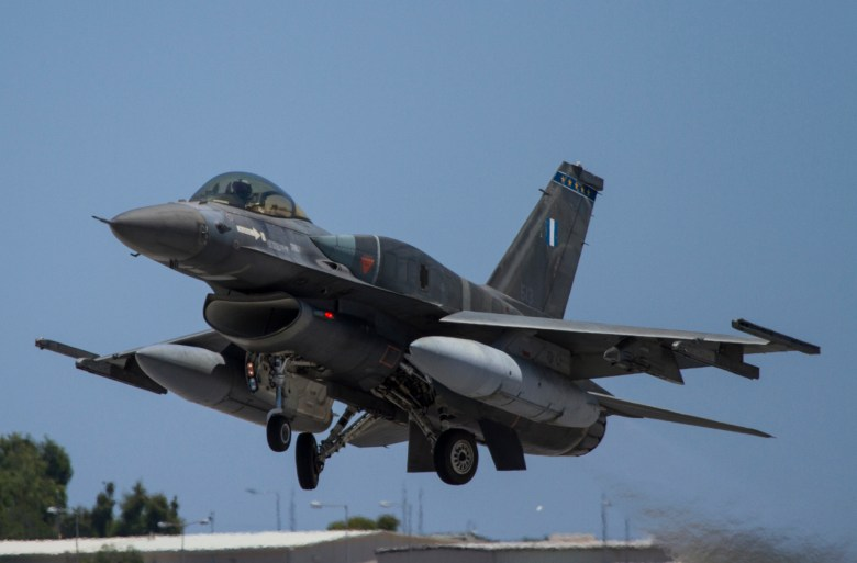 Greece Air Force F-16 Blk 52+
