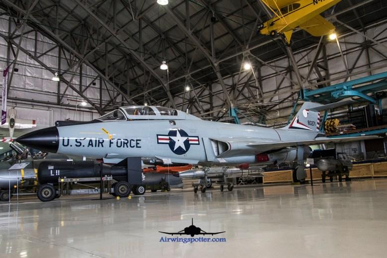 F-101B Voodoo 58-0271 portside front