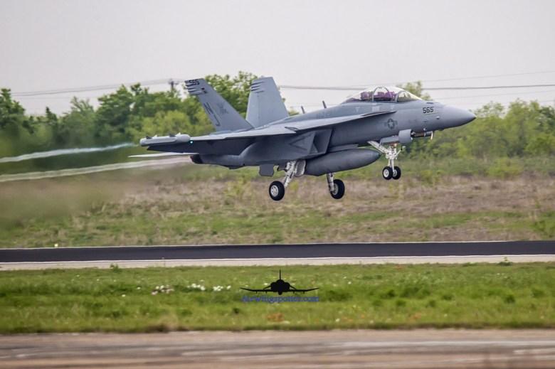 VAQ-129 departure shots
