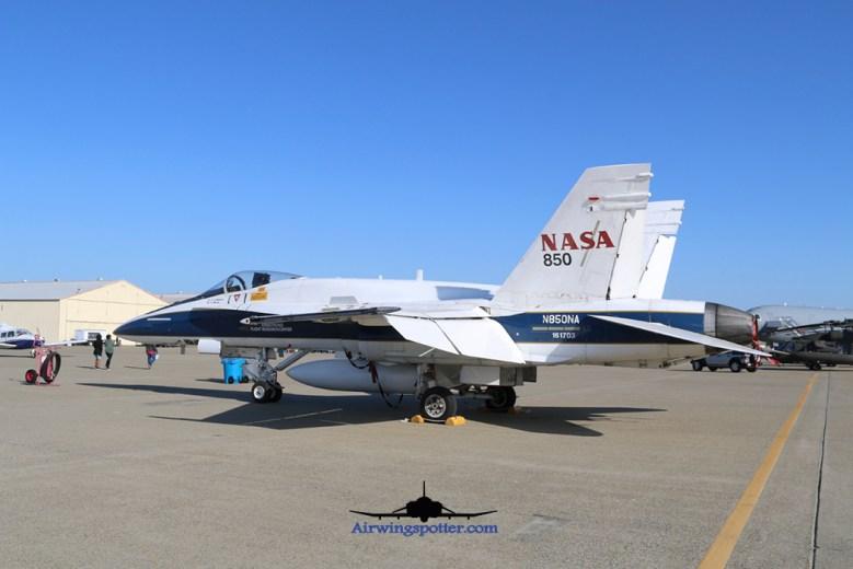 NASA F-18