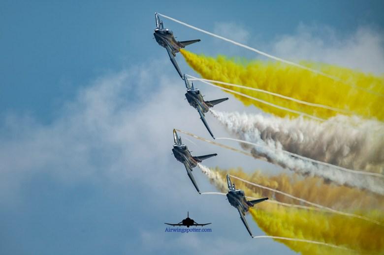 PLAAF j10 demo team formation