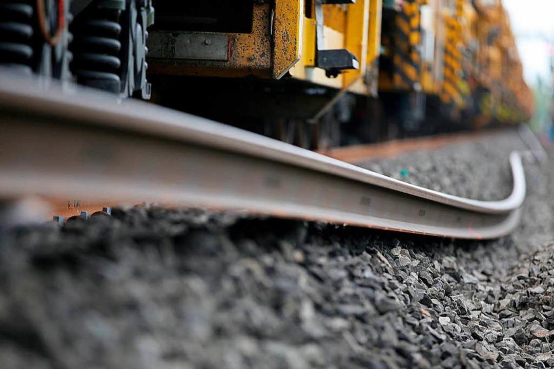 Streckenausbau bei Müllheim beginnt im Januar.    Foto: Oliver Berg