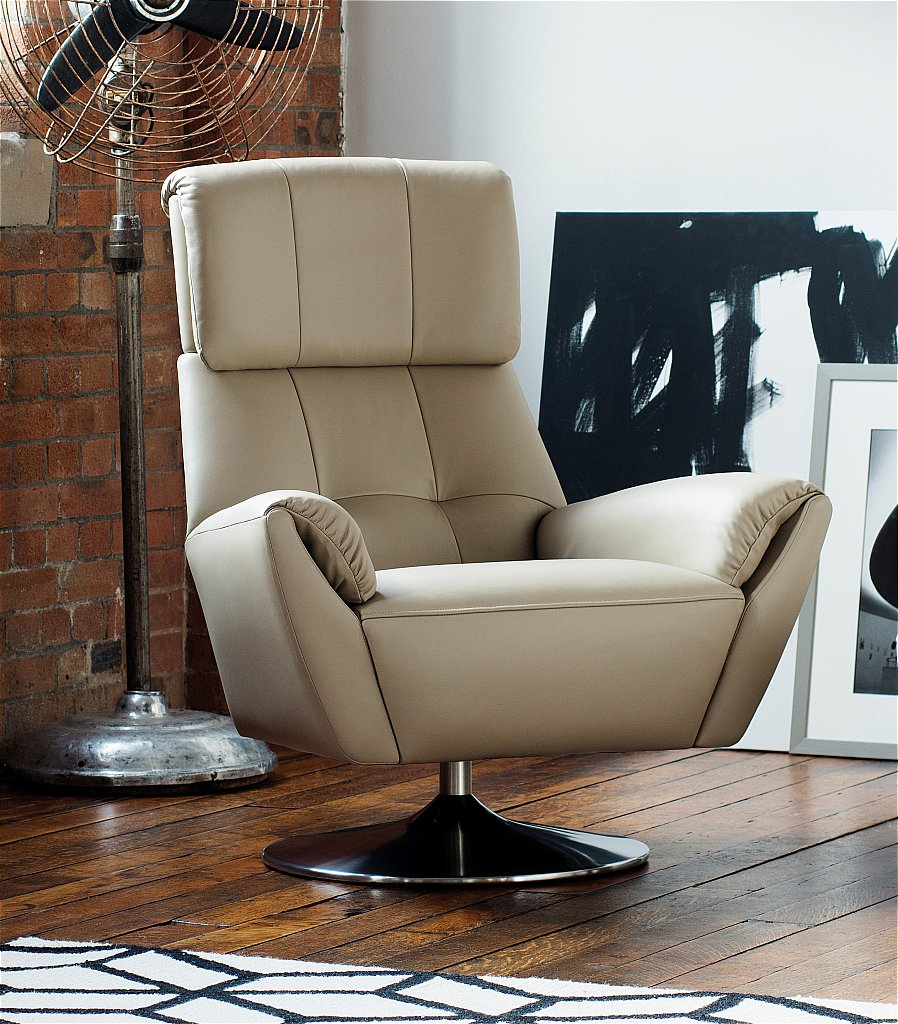 Evolution 1703 Leather Swivel Chair