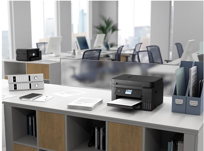 Epson ET-4750 Ecotank Colour Printer space saving