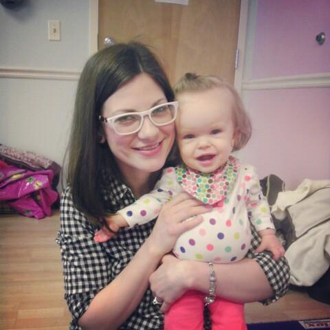 Addie and mommy