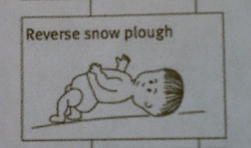 Reverse Snow Plough