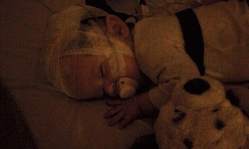 Sleeping baby <3