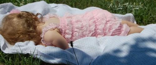 sleepingingthegrass