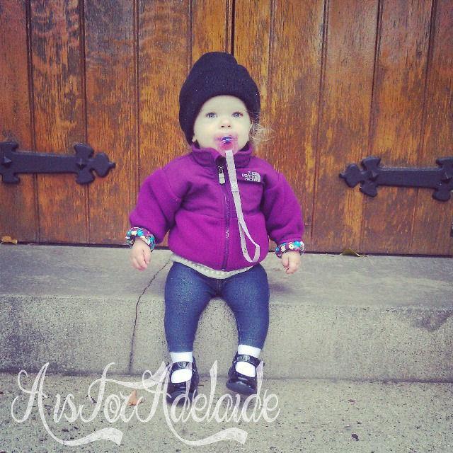 Addie at St Marys