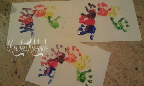 Addies hands #craft Turkey hands 2013