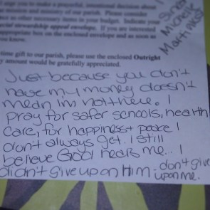 Letter to my Church #catholic
