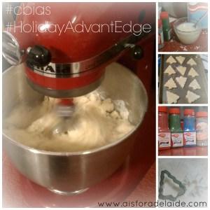 #HolidayAdvantEdge #shop #cbais Making Vanilla Sugar Cookies Entertaining Holiday Recipes Baking Ideas Christmas Recipes Bakery