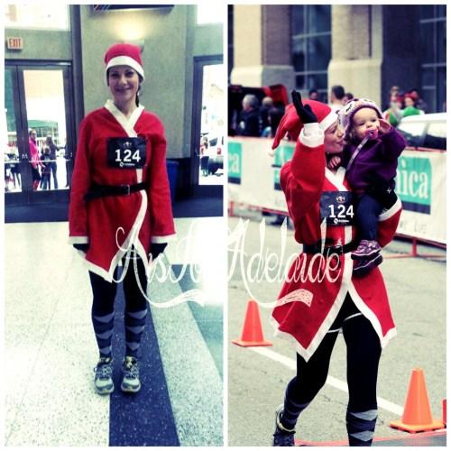 Jingle Bell 5k #PVD #roadrace #5k #aisforadelaideblog