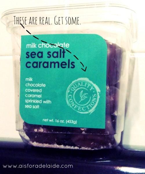 #Wholefoods Milk Chocolate Sea Salt Caramels