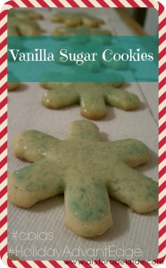#shop #HolidayAdvantEdge #cbias Vanilla Suagar Cookies with Country Crock Entertaining Holiday Recipes Baking Ideas Christmas Recipes Bakery