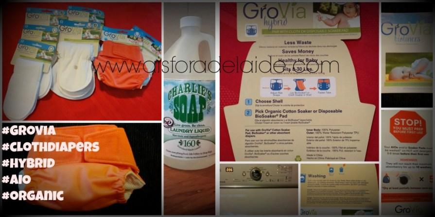 #Grovia Organic Cloth Diapers #aisforadelaide #CDmama